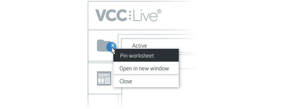 VCC Live Desk Pinning Worksheets Illustration